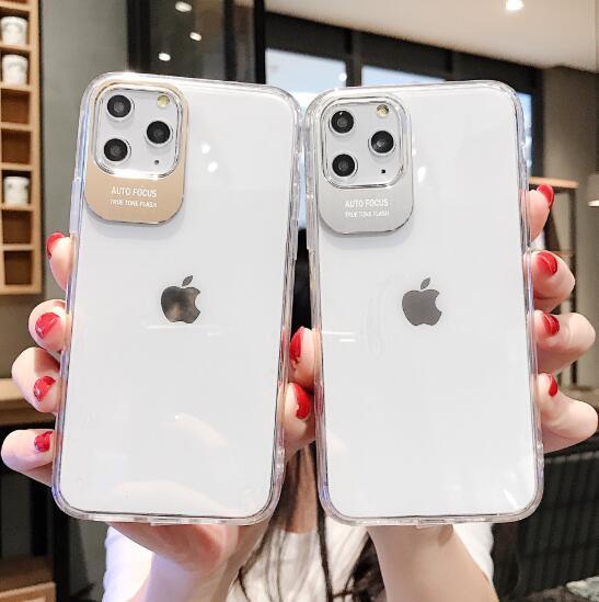 iPhone11 pro max クリア シンプル クール iPhoneX/XR/XS Max iPhoneケース 5色入り