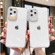 クリア シンプル クール iPhoneX/XR/XS Max iPhoneケース