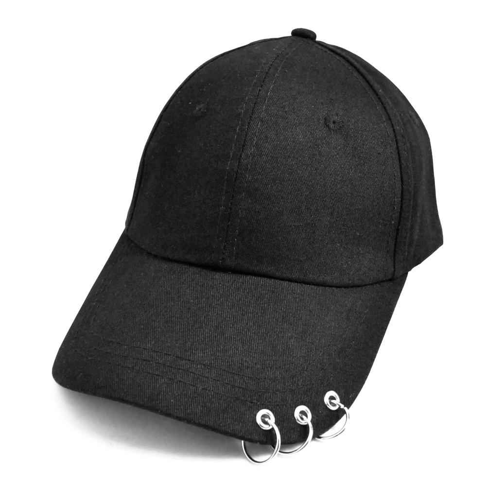 ▼MAGGIO▼3連リングピアスキャップ(帽子) 韓国ファッションのトレンドアイテム♪