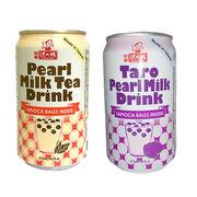 台湾 タピオカミルクティー タロイモミルクドリンク
