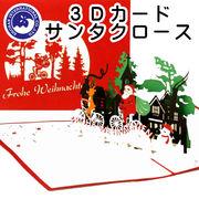 ■湘南インターナショナル■■2019SS 新作■ 【3Dカード】 クリスマス サンタクロース