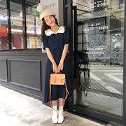 春夏新商品730706 大きいサイズ ドレス 婦人服 日韓風 ワンピース3L 4L 5L