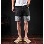メンズジーンズ デニム パンツ ショート ハーフパンツ カジュアル 大きいサイズ