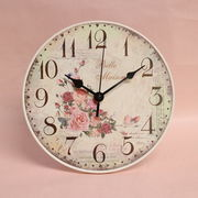 ローズ壁掛&置き兼用時計