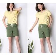 【大きいサイズS-4XL】【春夏新作】ファッション半ズボン♪全4色◆