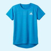 【グンゼ】adidas クルーネックワンポイントTシャツ(ボーイズ)
