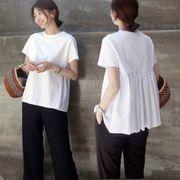 【即納】Tシャツ トップス レディース 半袖 2019 春新作 19ss-022【メール便可】