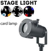 舞台照明 cardlamp LED コンセント式 防水 パーティ イベント 演出 照明 屋外 ステージライト