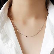 シルバー925 sterling silver silvernecklace ネックレス 切子 ベネチアン ネックレス ◆メール便対応可◆
