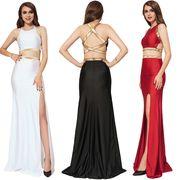 【即納】 ★ ロングドレス ★ イブニングドレス ★ セパレートドレス ★ ドレス 全3色 4233