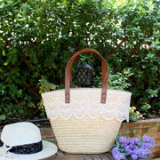 夏 サークルバッグ  ショルダーバッグ 手提げ ハンドバッグ  籠バッグ ストローバッグ