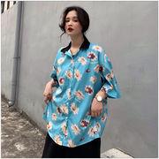 春夏新商730782  大きいサイズ 韓国 レディース ファッション ポロシャツ ワンピース  LL-4L
