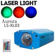 LED オーロラ エフェクト ライト リモコン付き マルチカラー 舞台 照明 LS-XL03