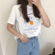 ロングTシャツレディース 韓国 オルチャン かわいい おしゃれ