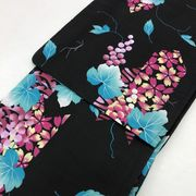 【プレタ浴衣】高級ゆかたを格安でご提供します。売切れ御免  限定商品 黒
