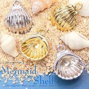 """▼SALE▼L&A original charm★デコ土台シェルフレーム★マリーンシリーズ★貝殻チャーム""""shell"""""""