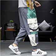 【大きいサイズM-5XL】ファッション/人気パンツ♪ダークグレー/ブラック/ライトグリーン3色展開◆