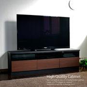 テレビ台 ローボード 145cm幅 テレビボード ブラック TV台 GTV-145BKBR