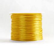 ポリウレタンゴム 20 黄色  ハンドメイド ブレスレット 水晶の線 約80m 全34色 オペロン 糸