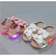 子供靴★2019新作★男女兼用 ★キッズファッション靴★ 女の子PU シューズ(21-30)