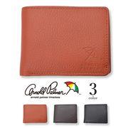 【全3色】 Arnold Palmer アーノルドパーマー 二つ折り 財布 リアルレザー