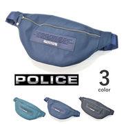 【全3色】 POLICE ポリス ナイロン ウエストバッグ