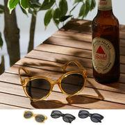 【2019春夏新作】ボストン サングラス / 丸 メガネ めがね 眼鏡 伊達 メンズ レディース