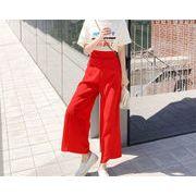春まで着れる トレンドデザイン小さい新鮮な ロングパンツ 港の風 キュロットスカート ワイドパンツ