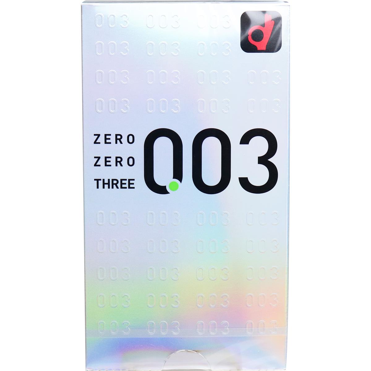 オカモト ゼロゼロスリー003 コンドーム 12個入
