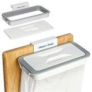 マルチ袋ホルダー/どこでもゴミ箱フタ付/フック型/簡単設置/ダストボックス/便利グッズ/ゴミ袋ホルダー