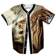 メンズ 夏ビッグTシャツ シャツ 3Dプリント 欧米 人気 原宿系