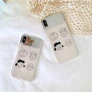 【ファッション新品】 携帯電話カバー iPhoneカバー スマホケース 保護 スヌーピー 鏡付き