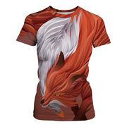 レディース メンズ 夏ビッグTシャツ 3Dプリント 欧米 人気 原宿系