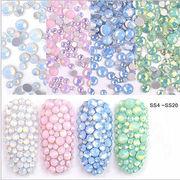 ネイル 平底ドリル 爪の穴 アルブミン ガラスのダイヤモンド 彩色ドリル ドリル ジルコンのアクセサリー