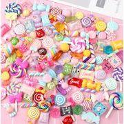 樹脂 福袋 キャンディの付属品 クリームゼリー 携帯のケース 棒付きキャンディーの素材バッグ