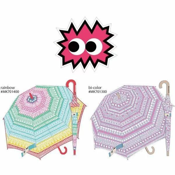 アーチストがデザインしたビニール傘! MASAGON(マサゴン)Umbrella カラープリント
