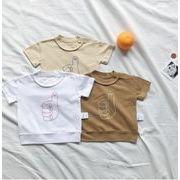 夏半額処分★数量限定★キッズ服★トップス 男の子  女の子tシャツ カジュアル系