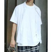 半袖ブロードボタンダウンシャツ
