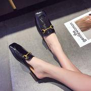 一部即納 高レビュー ファッション 新しい 女性 学生 ファッション ワイルド 怠惰な靴