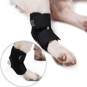 犬用 膝サポーター リハビリ レッグプロテクター 怪我防止 犬骨折治療 老犬介護 お出かけ保護 柔かい