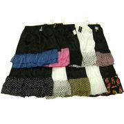 【即納】【処分】大きいサイズのフリルペチスカート10枚組アソート