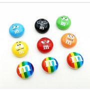 表情M豆 カラー豆 キャンデー樹脂の部品 漫画手作りDIY材料 携帯のケース