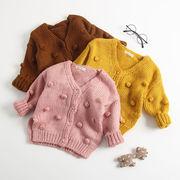 人気商品★カーディガン★ファッション★女の子 用トップス★セーター★長袖のトップス★アウター