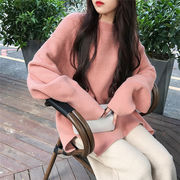 新製品の入荷 韓国ファッション カジュアル 百掛け 怠惰な風 シャツ 小さな新鮮 セーター 潮