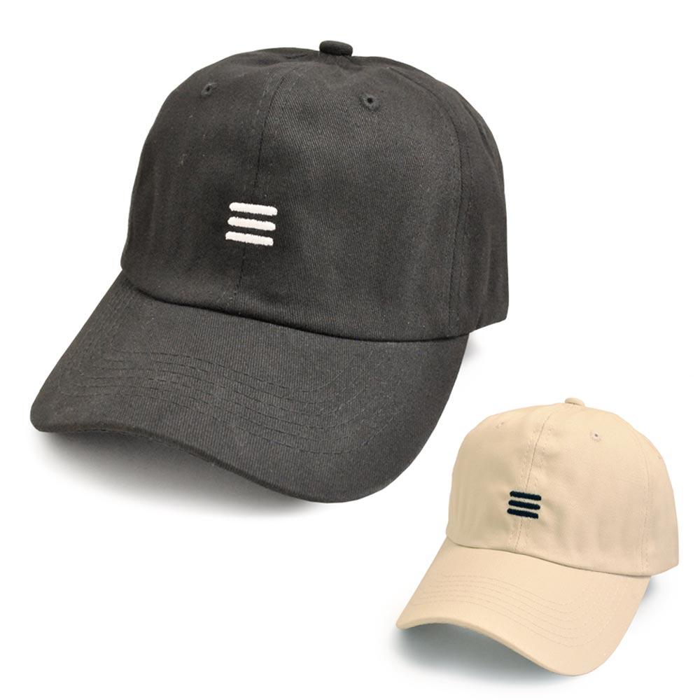 ▼MAGGIO▼【キャップコーデのワンポイント♪】スリーライン刺繍キャップ(帽子)