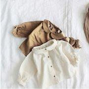 秋新入荷★大人気★キッズ服★キッズ女の子 シャツ ★(90-130cm)