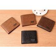 財布 メンズ 二つ折り カード 収納 本革 レザー 小銭入れ 大容量