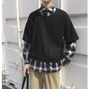 2019年新作★メンズ★トップス★長袖★シャツ★カジュアル★韓国風★2色★M-XXL