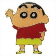 【ピンバッジ】クレヨンしんちゃん ピンズ しんのすけ全身