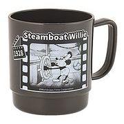 【SALE】683074 ムービーマグ ミッキー 蒸気船 ブラック